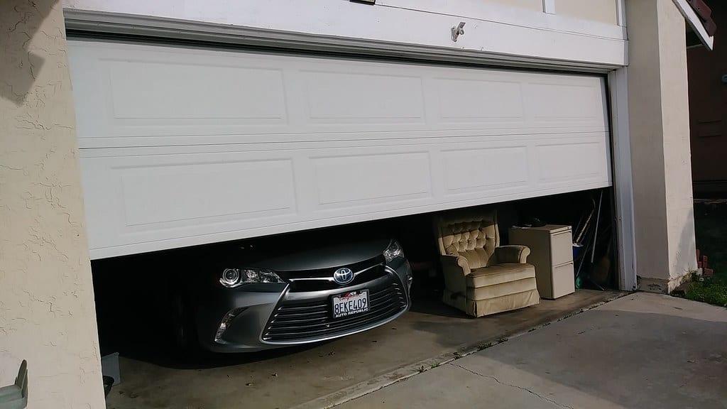 broken garage door wont open